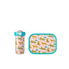 Mepal school cup and lunch box Leopard