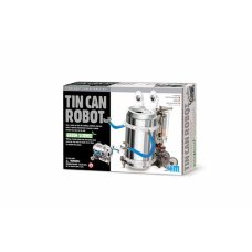 4M Kidz Lab Fun Mechanics kit Robot from Tin
