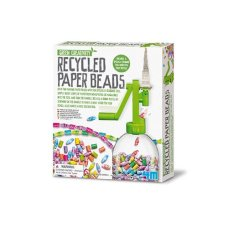 4M Kidz Lab Green Creativity Recycled paper Bead chain