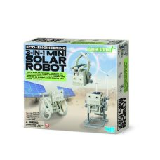 4M Kidz Lab Green Eco Engineering Solar robot Mini
