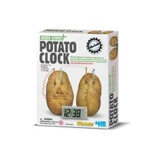 4M Kidz Lab Green Science Potato Clock