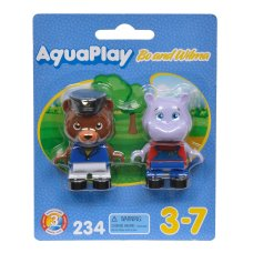 Aquaplay Figures Bear and Hippopotamus