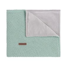 Babies Only Cot Blanket Soft Sparkle Flavor Gold-Mint Melange