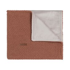 Babies Only Cot Blanket Soft Sparkle Flavor Copper-Honey Melange