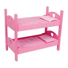Bed and Bunk Pink