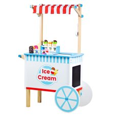 BigJigs ice cream cart with accessories