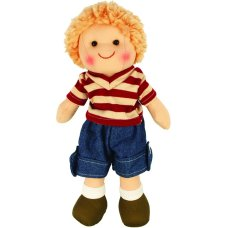 Bigjigs doll Harry 28 cm