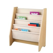 Kidkraft Slanted Bookshelf Natural