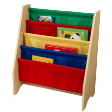 Kidkraft Slanted Bookshelf Primary Colors
