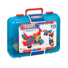 Bristle Blocks 113 Piece Suitcase