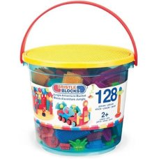Bristle Blocks 128 Piece Bucket