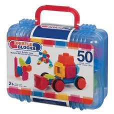 Bristle Blocks 50 Piece Suitcase