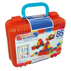 Bristle Blocks 85 Piece Suitcase