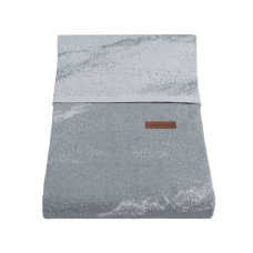 Baby's Only Duvet cover 100x135 cm Marble gray / silver gray