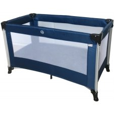 Ding Travel Bed Stripe Blue