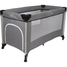 Ding Travel Bed Stripe Deluxe Melange Gray