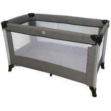 Ding Travel Bed Stripe Melange Gray