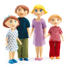 Djeco dolls family Gaspard and Romy