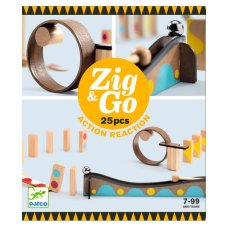 Djeco Zig & Go 25 pieces