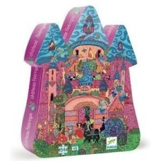 Djeco puzzle princesses castle