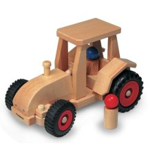 Fagus Wooden Tractor with Cabin