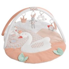Fehn Play Dress with Swan Lake Bow