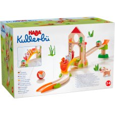 Haba Ball Track Chicken Domino