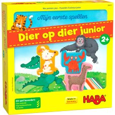 Haba my first games animal on animal Junior