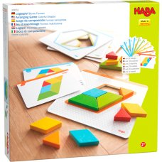 Haba game colorful shapes
