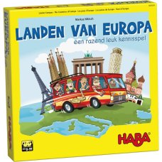 Haba game Countries of All of Europe