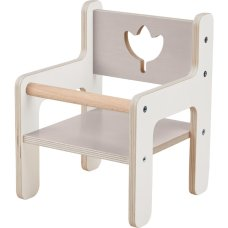 Haba White doll chair
