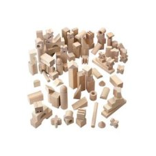 Haba block set blank 102-piece