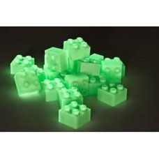 Hubelino Buildings Blocks 4 Studs Glow in the Dark