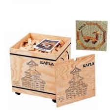 Kapla Case 1000 Pieces With Brown Book