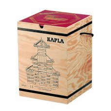 Kapla Coffin 280 Pieces With Book Red