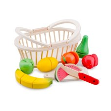 New Classic Toys Fruit Set in Basket