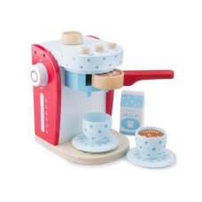 New Classic Toys Coffee maker Red with Blue