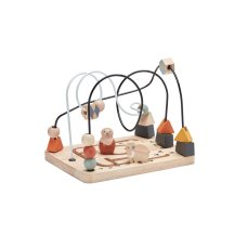 Kid's Concept wooden play area with beads NEO
