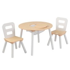 Kidkraft Round Table with 2 Chairs