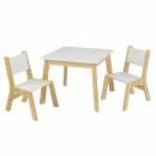 Kidkraft Table Natural with 2 Chairs