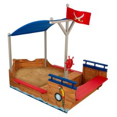 Kidkraft Outdoor sandpit Pirates with pool cover