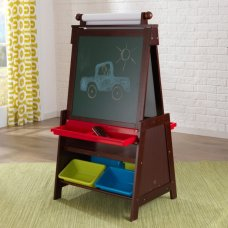 Kidkraft Wooden Adjustable Easel Espresso