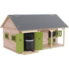 Kids Globe horse stable with 2 boxes and storage