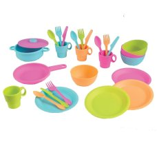Kidkraft 27-piece Pastel Pot and Cookware Set