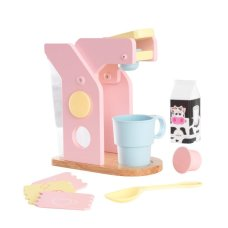 Kidkraft Coffee set in Pastel colors