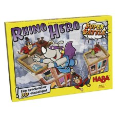 Haba game Rhino Hero Super Battle
