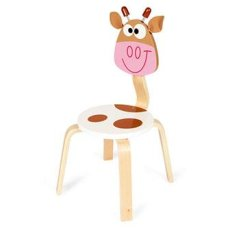 Scratch Highchair Cow