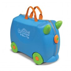 Trunki children's suitcase Blue