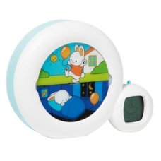 Kidsleep Moon white Clock + alarm clock
