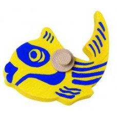 Nic marble track multibaan Fish Yellow